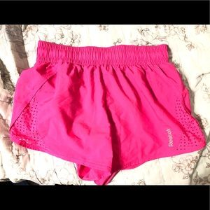 Brand new neon pink athletic shorts
